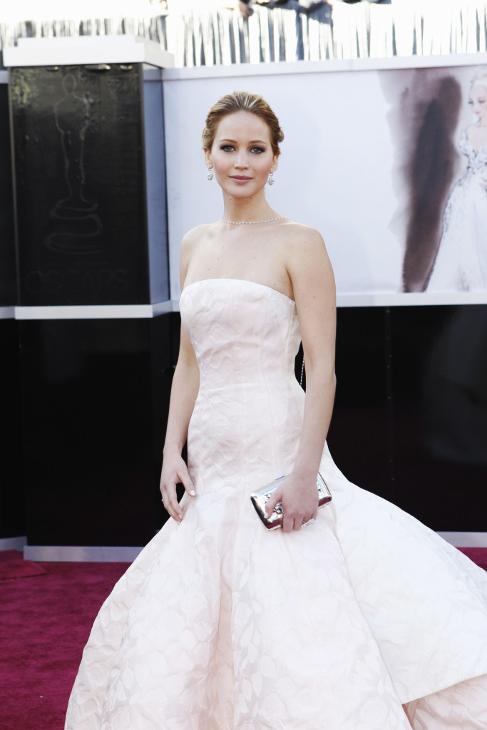 oscars 2013 jennifer lawrence