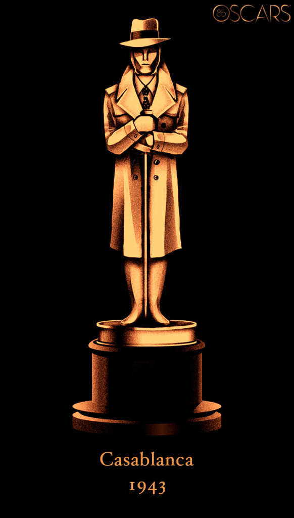 1943 CASABLANCA: Oscars Best Pictures Tribute - Oscars ...