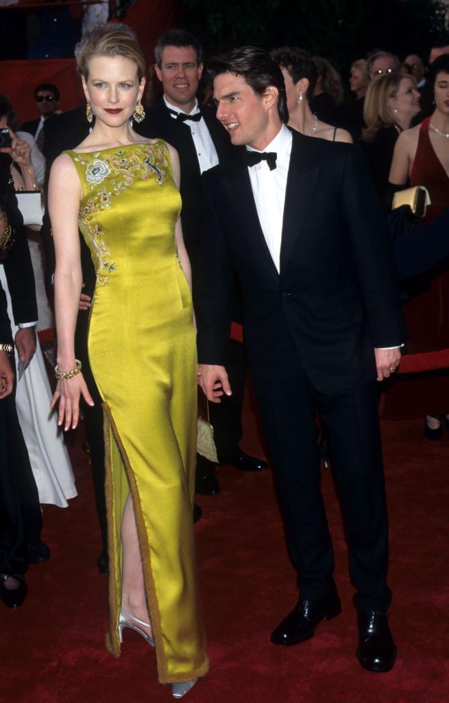 Nicole Kidman Tom Cruise 1997 Oscars Red Carpet Fashion Through