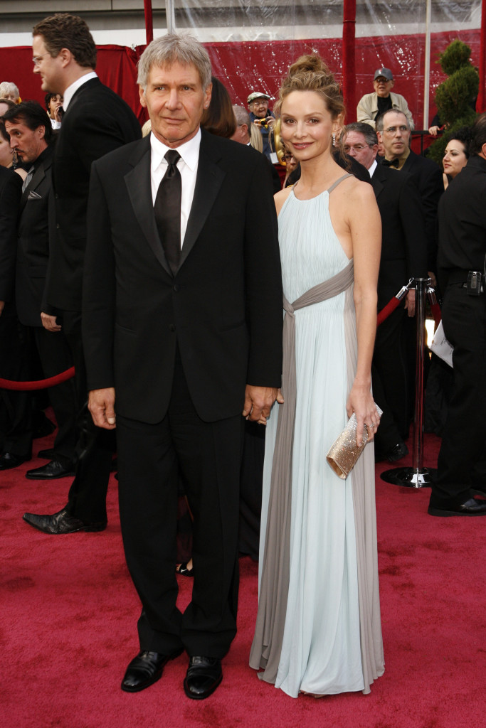 Harrison Ford And Calista Flockhart Romance On The Red