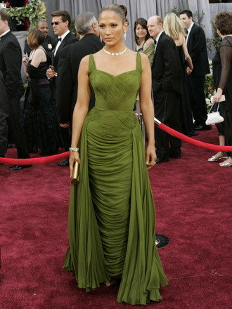 Jennifer Lopez At The 78th Academy Awards In 2006