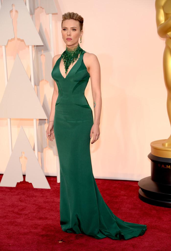 Green Oscar Dresses 2015