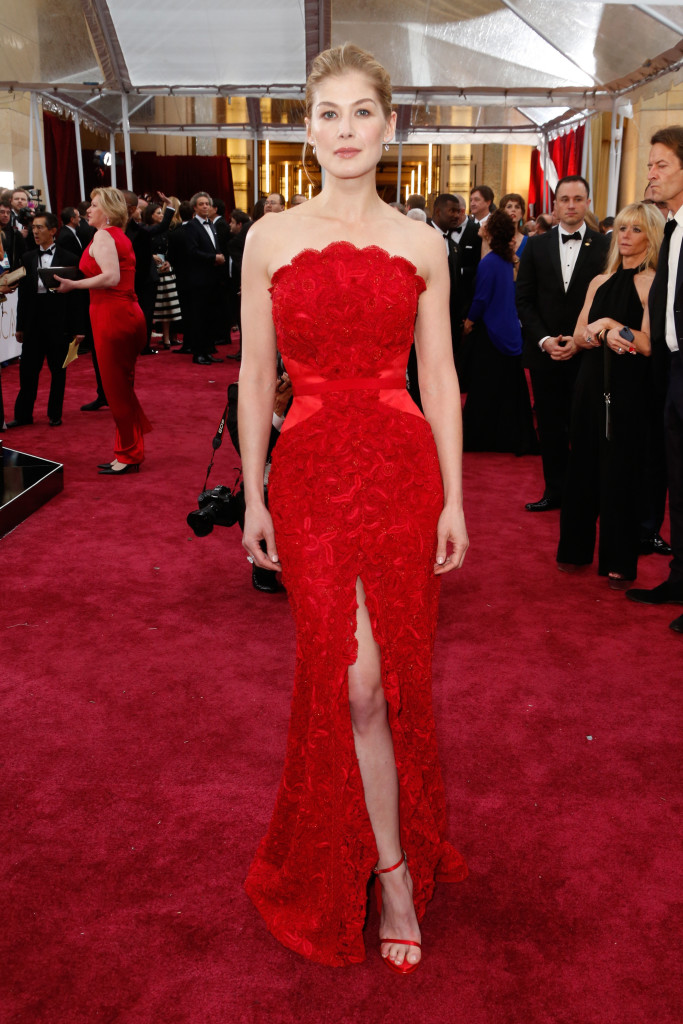 Rosamund Pike In Givenchy Best Dressed At The Oscars