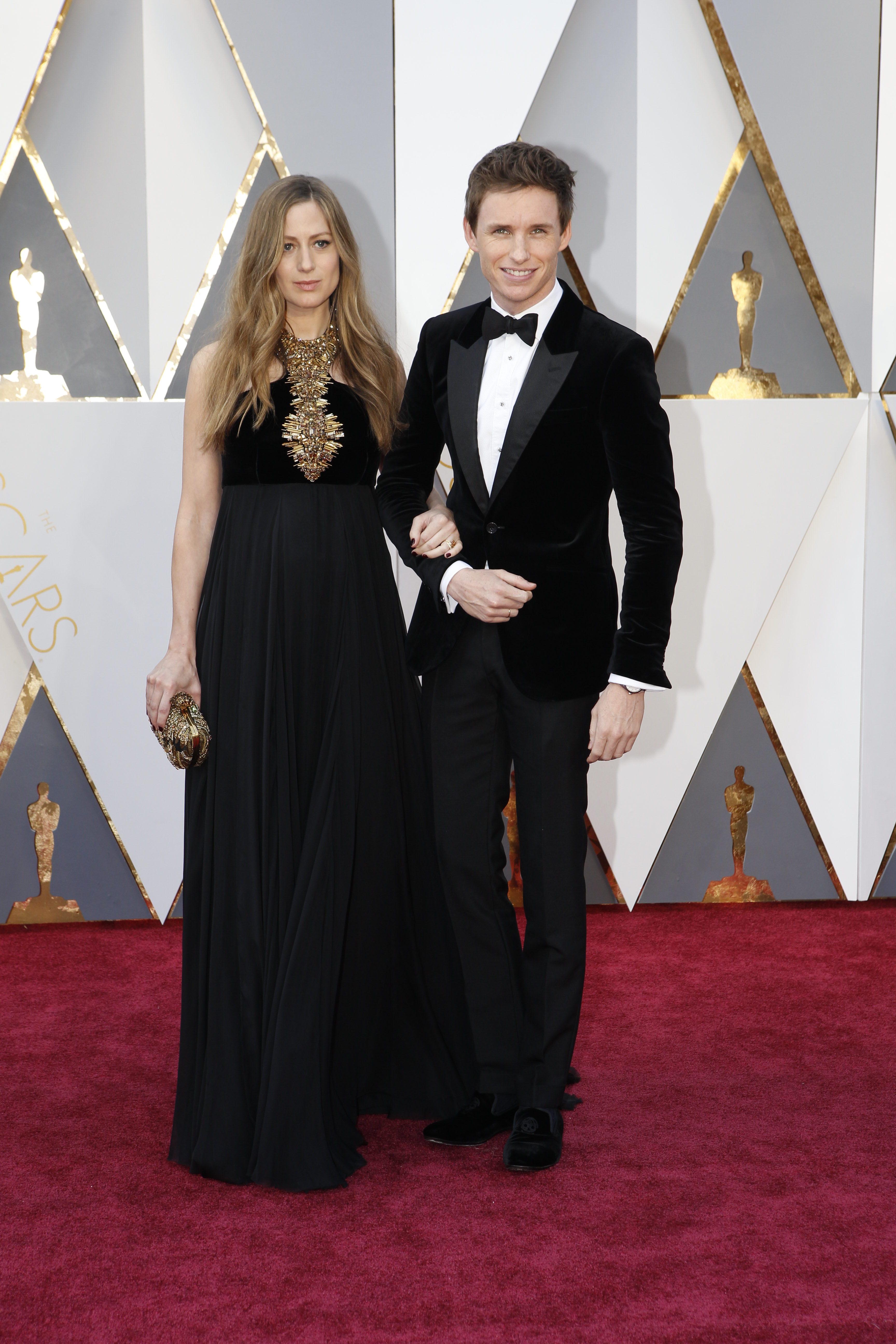 Edredmayne Oscars Red Carpet Arrivals
