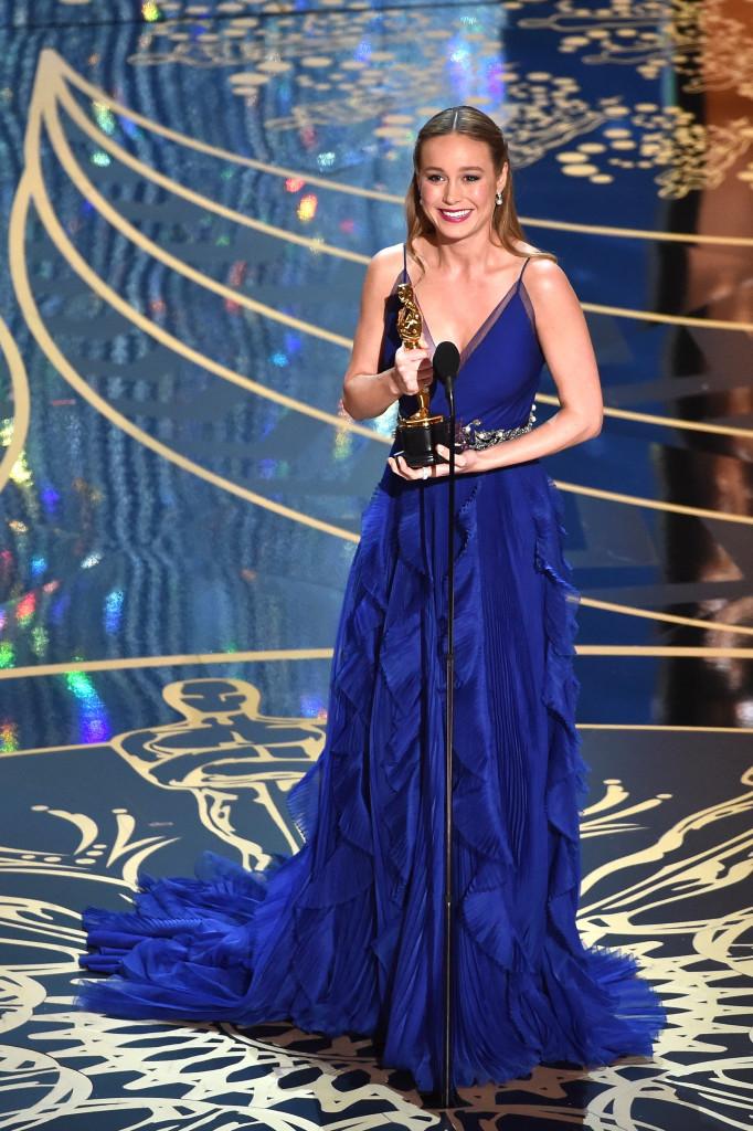 Brie Larson Oscars 2016 Highlights Oscars 2016 Photos