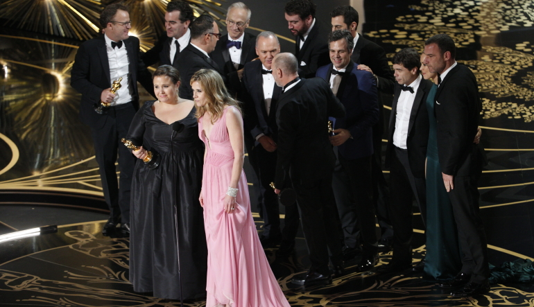 Spotlight Is a 2016 Oscar Winner for Best Picture! - Oscars 2016 News | 88th Academy Awards