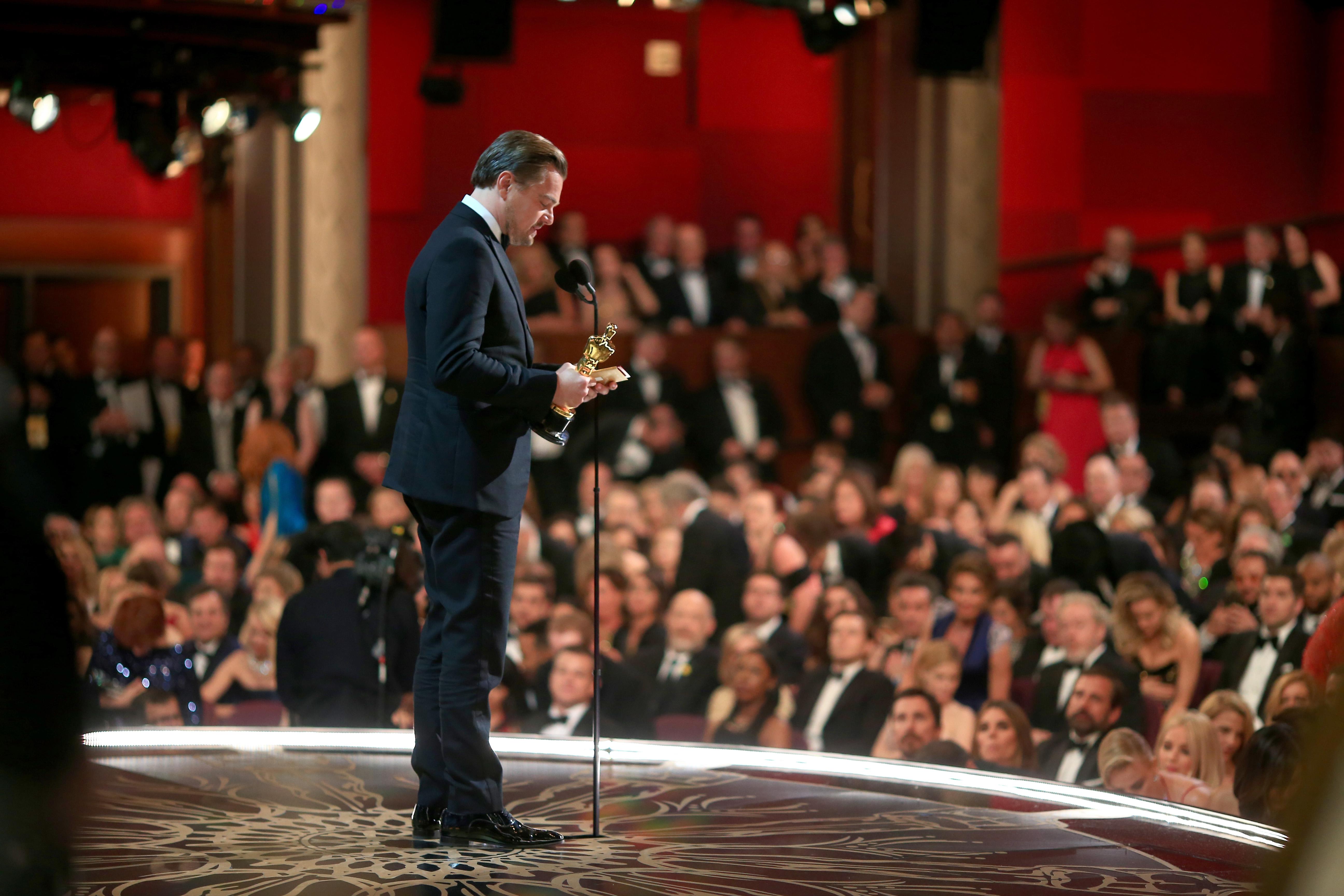 Watch Leonardo Dicaprio S 2016 Oscar Acceptance Speech
