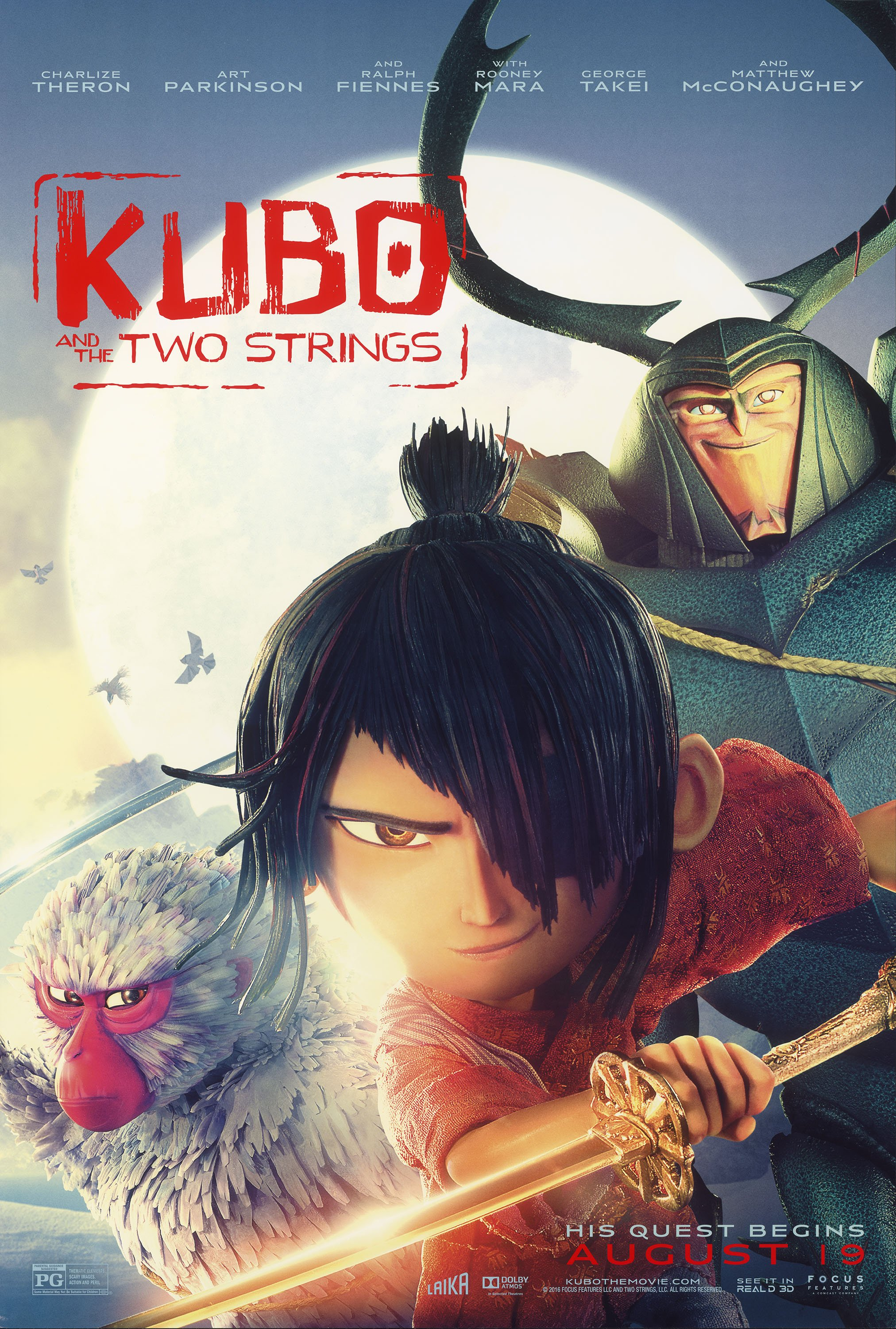 Kubo and the Two Strings: Visual Effects – Oscar Nominees 2017