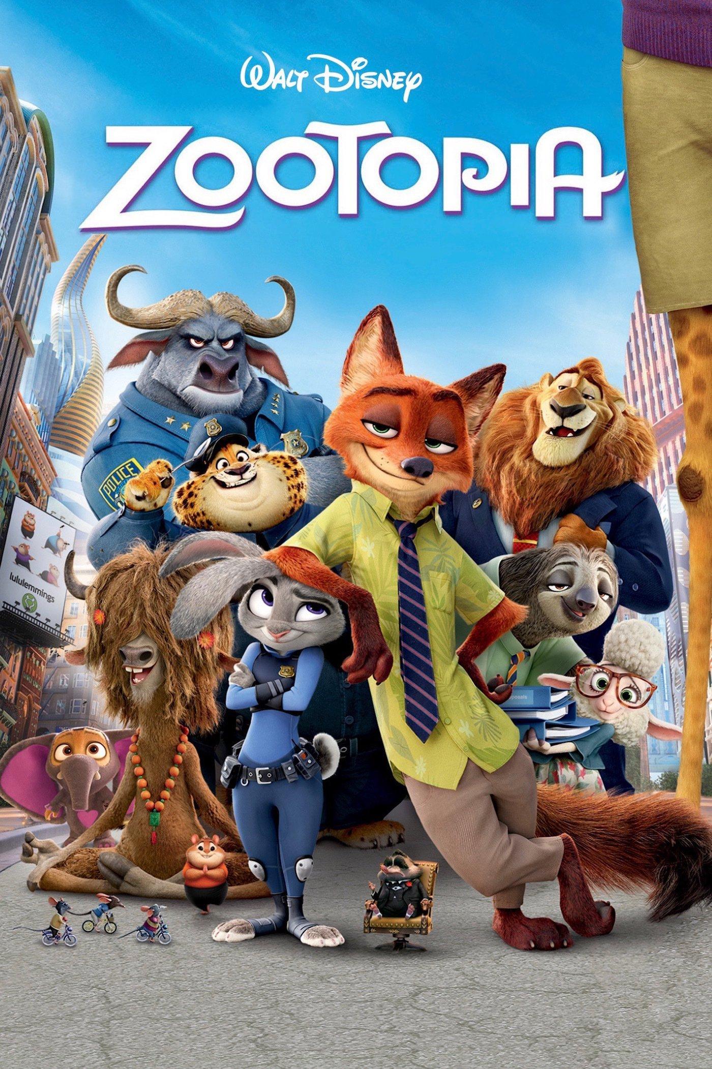 Zootopia | 720p y 1080p | Dual