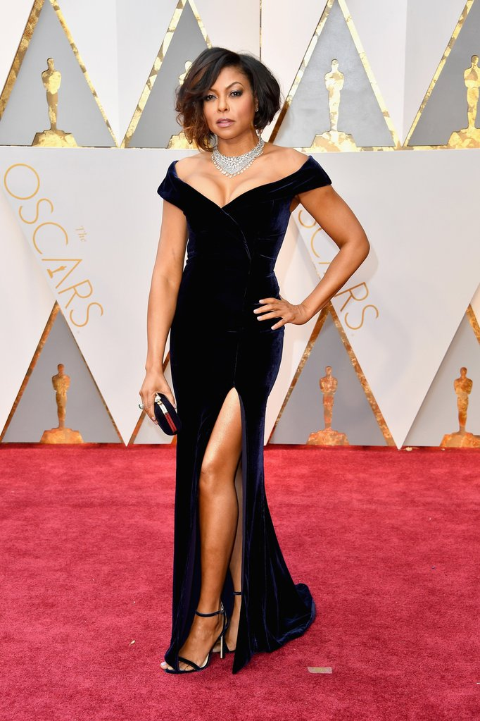 Taraji P Henson Oscar  Dress