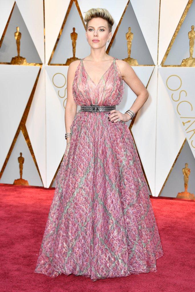 Scarlett Johansson Oscar 2017 Red Carpet Arrival Oscars Red Carpet Fashion 2010 2019 Oscars 2020 Photos 92nd Academy Awards