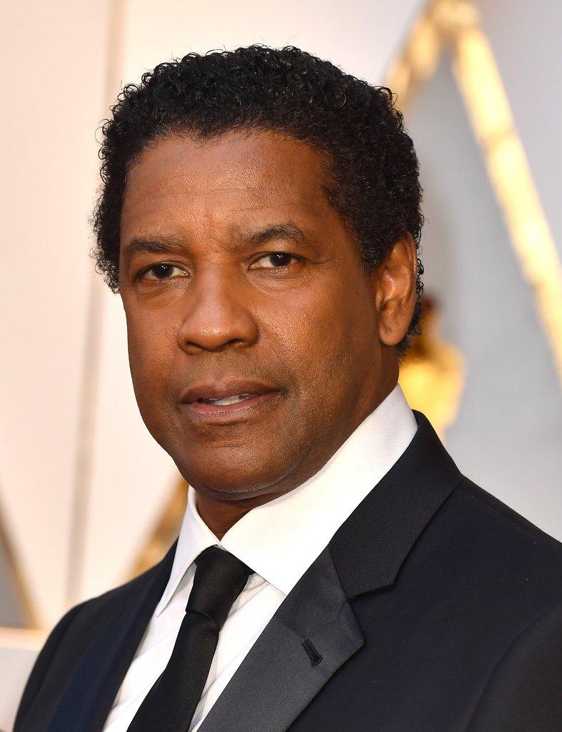 Denzel Washington Oscar 2017 Red Carpet Arrival Oscars