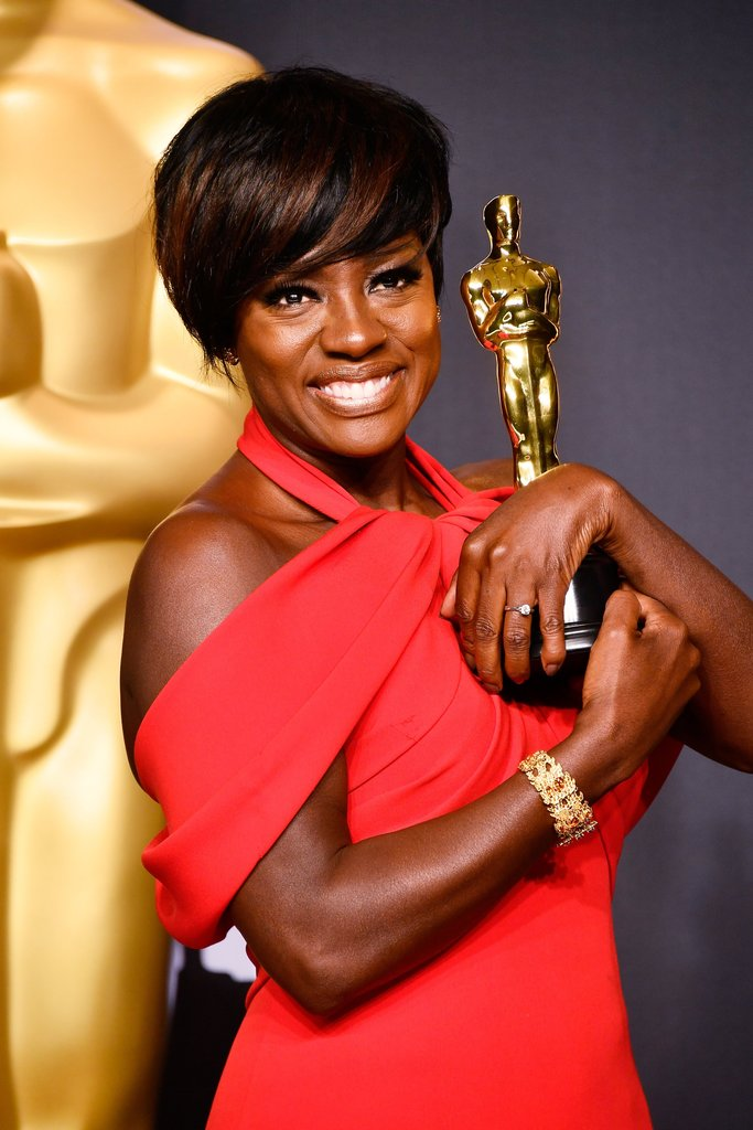 Viola Davis Wins 2017 Oscar For Actress In A Supporting