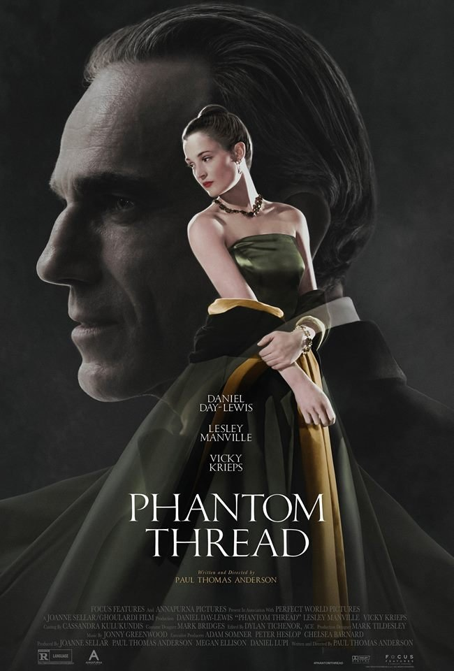 Phantom Thread Costume Design Oscar Nominees 2018