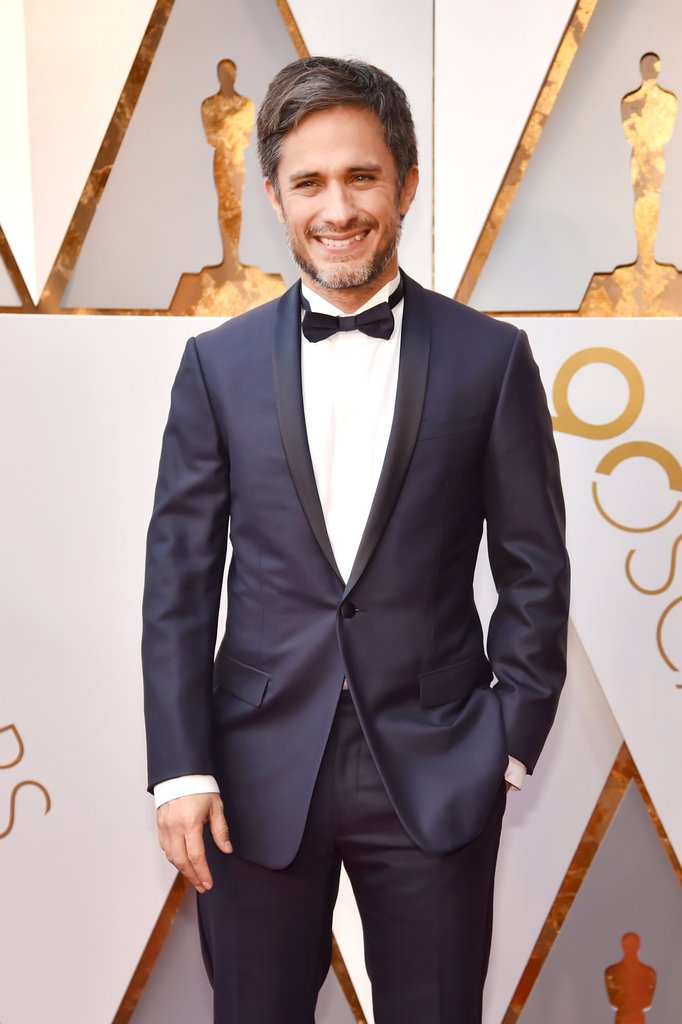 Gael Garcia Bernal On The Oscars Red Carpet 2018 Oscars