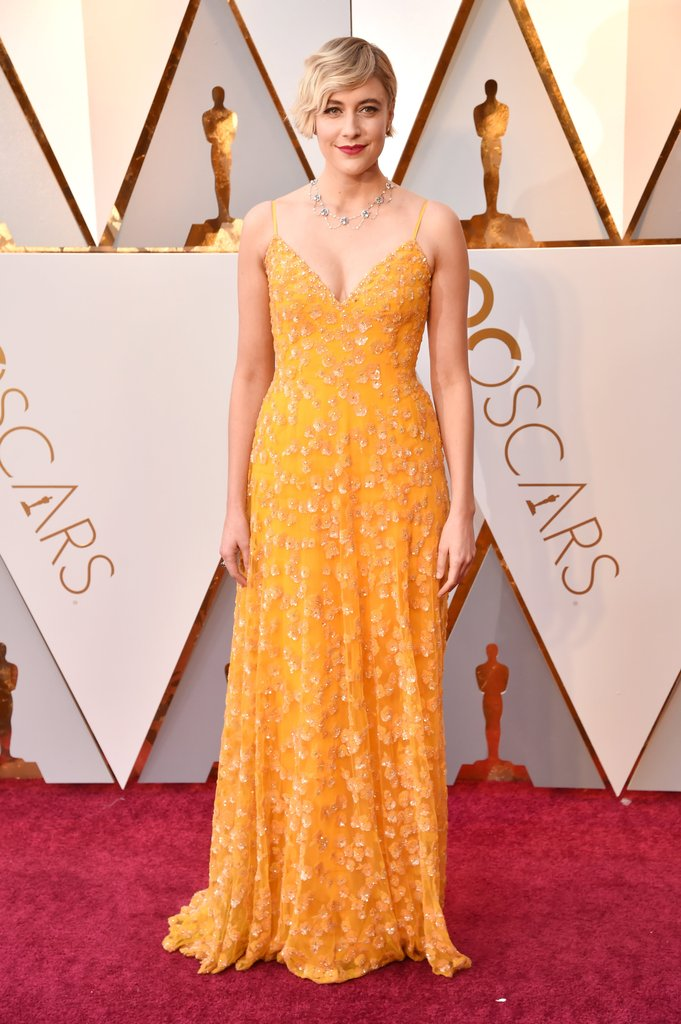 Yellow for Red Carpet Dress