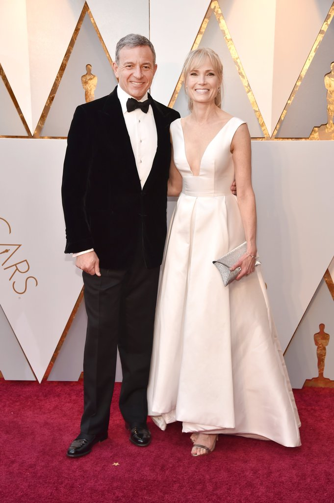 Bob Iger And Willow Bay On The Oscars Red Carpet 2018