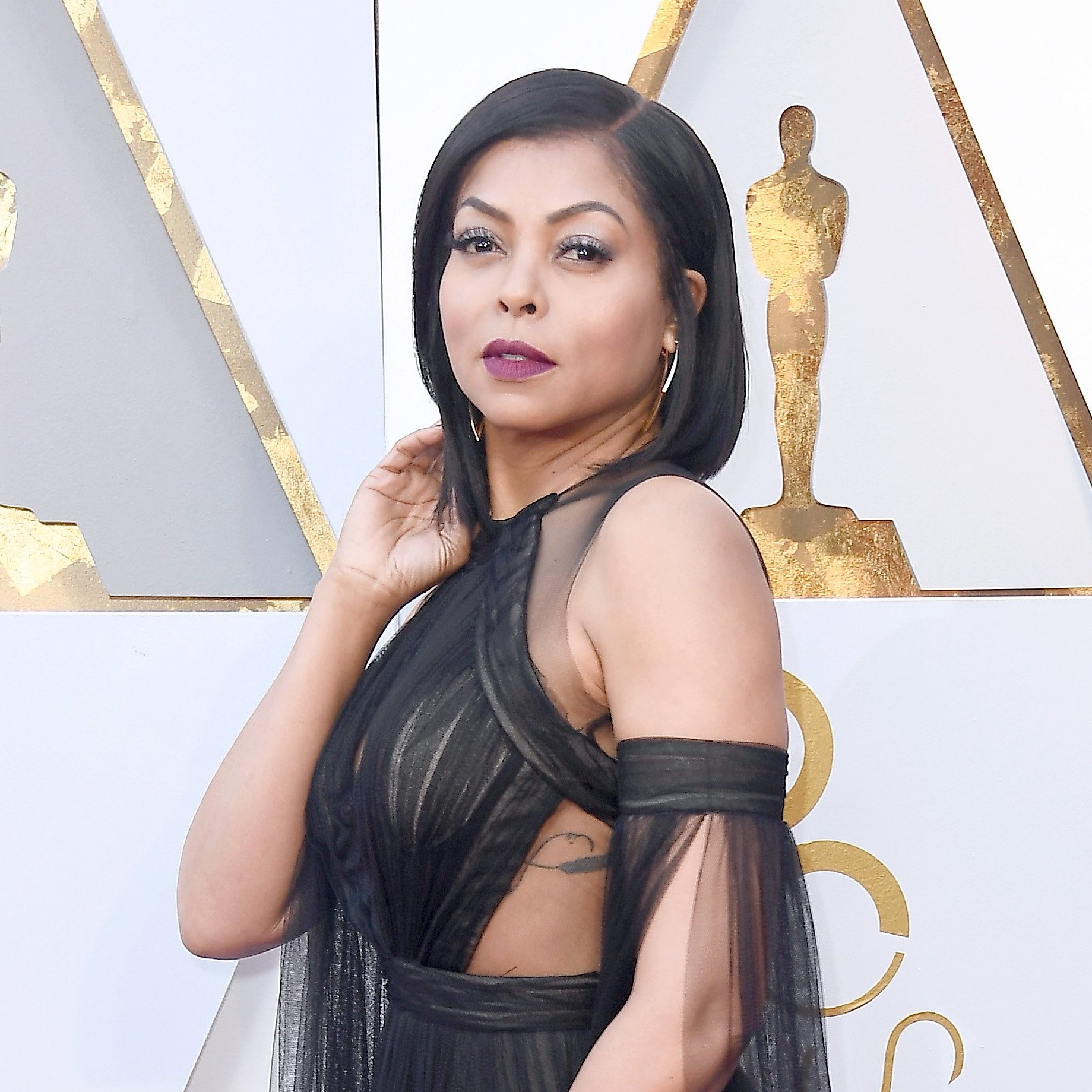 Taraji P Henson, 2018 Oscars, Red Carpet Fashions