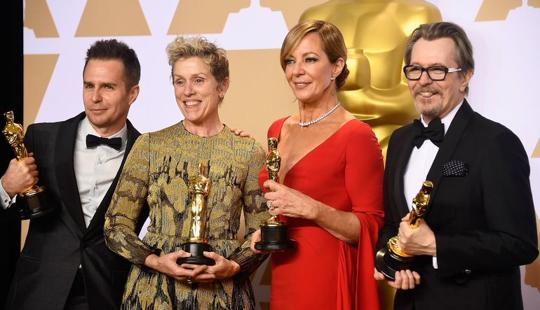 Image result for 2018 oscar winners