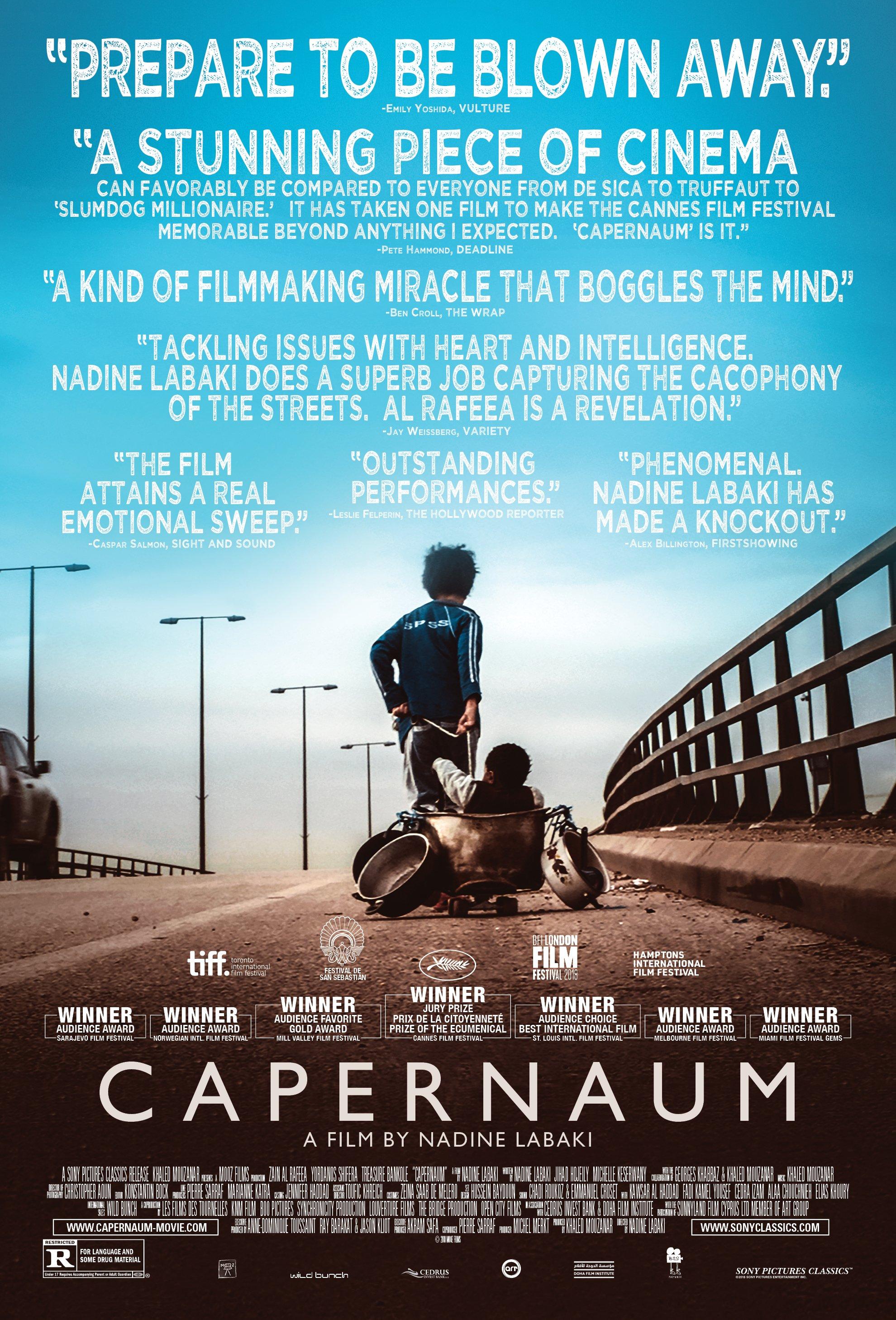 Capernaum Lebanon Foreign Language Film Oscar Nominees 2019