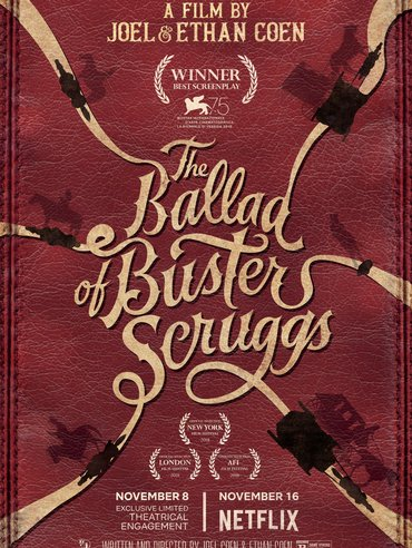 """When A Cowboy Trades His Spurs For Wings"" from The Ballad of Buster Scruggs"