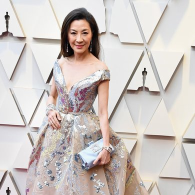 Michelle Yeoh on the Oscars Red Carpet 2019