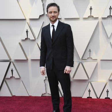 James McAvoy on the Oscars Red Carpet 2019