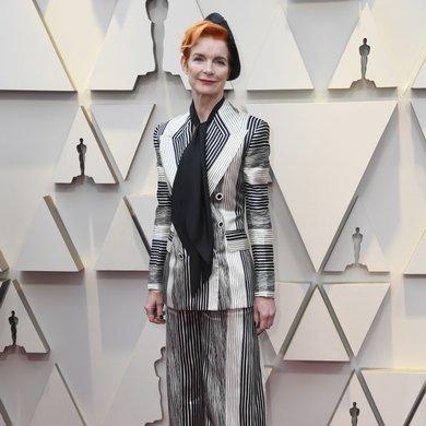 Sandy Powell on the Oscars Red Carpet 2019