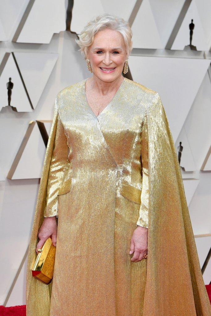 0e78ed45 Glenn Close on the Oscars Red Carpet 2019: Oscars 2019 Nominees on ...