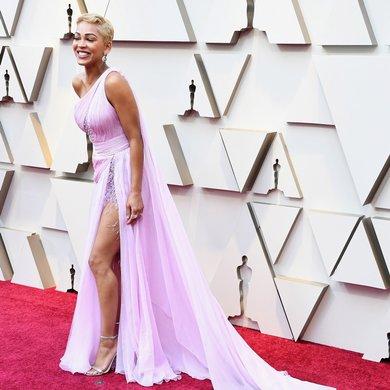 Meagan Good on the Oscars Red Carpet 2019