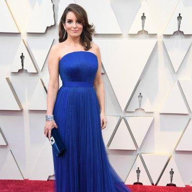 Tina Fey on the Oscars Red Carpet 2019