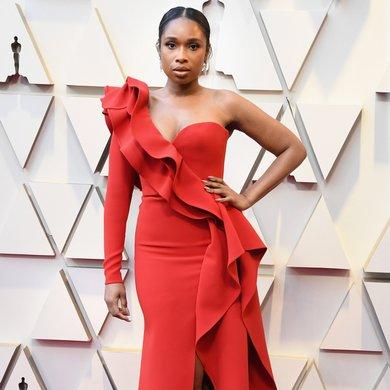 Jennifer Hudson on the Oscars Red Carpet 2019