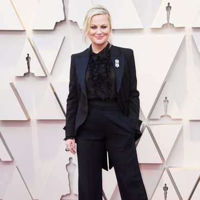 Amy Poehler on the Oscars Red Carpet 2019