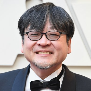 Mamoru Hosoda on the Oscars Red Carpet 2019
