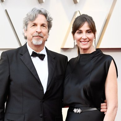 Peter Farrelly and Melinda Kocsis on the Oscars Red Carpet 2019