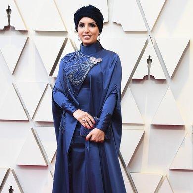 Fatma Al Remaihi on the Oscars Red Carpet 2019