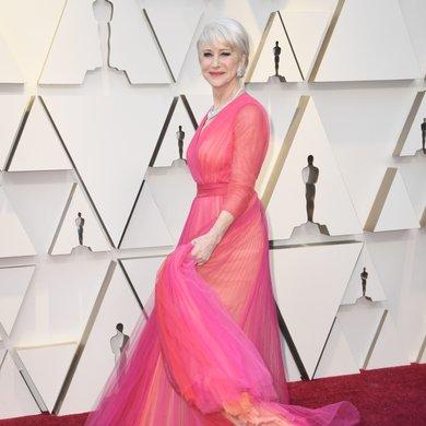 Dame Helen Mirren on the Oscars Red Carpet 2019