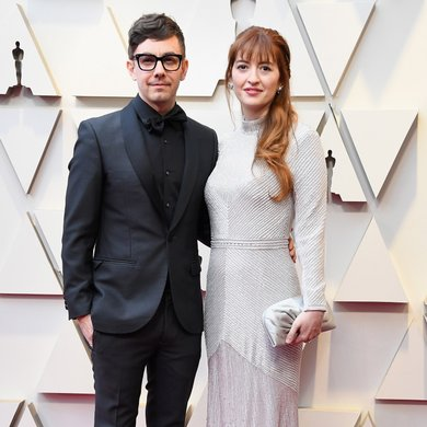 Marielle Heller and Jorma Taccone on the Oscars Red Carpet 2019