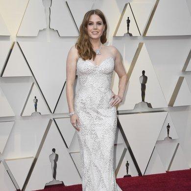 Amy Adams on the Oscars Red Carpet 2019