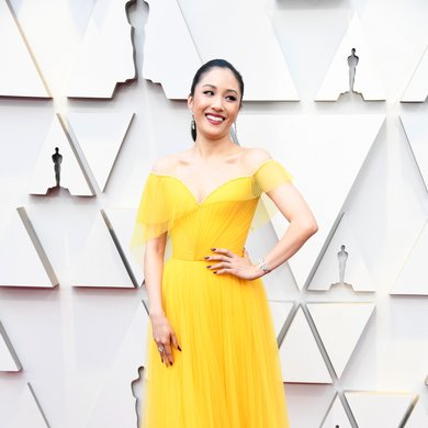 Constance Wu Oscars 2019 Red Carpet Dres