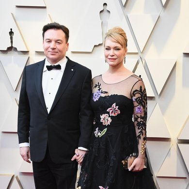 Mike Myers and Kelly Tisdale on the Oscars Red Carpet 2019
