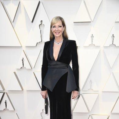 Allison Janney on the Oscars Red Carpet 2019