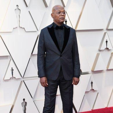 Samuel L. Jackson on the Oscars Red Carpet 2019