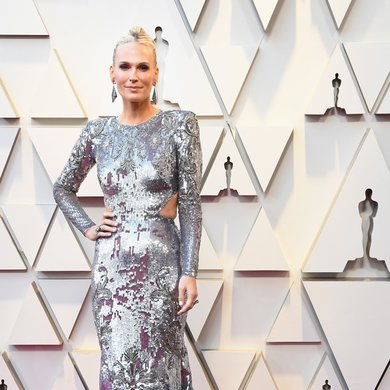 Molly Sims on the Oscars Red Carpet 2019