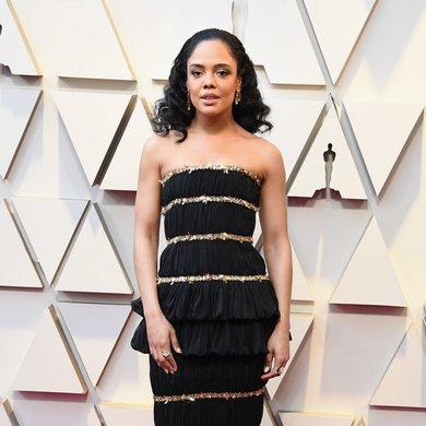 Tessa Thompson on the Oscars Red Carpet 2019