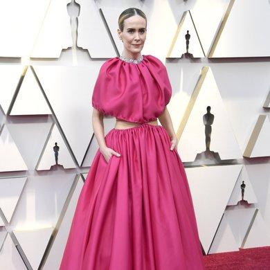 Sarah Paulson's Oscars 2019 Dress