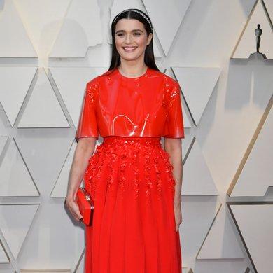 Rachel Weisz on the Oscars Red Carpet 2019