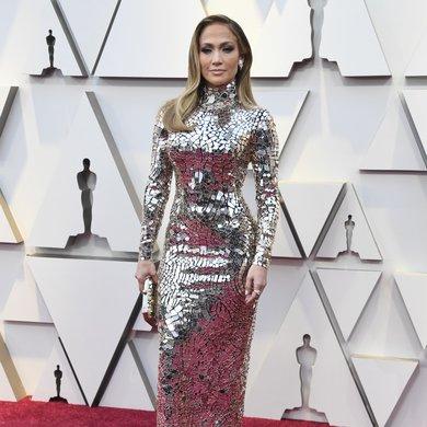 Jennifer Lopez Oscar 2019 Red Carpet Dress