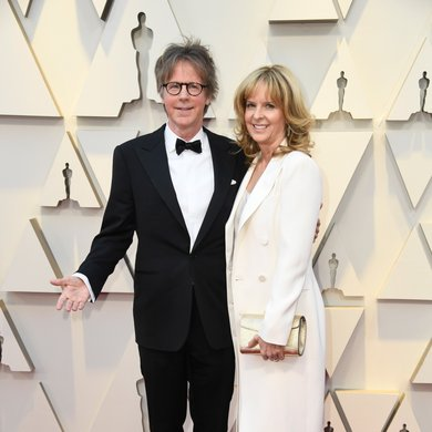 Dana Carvey and Paula Zwagerman on the Oscars Red Carpet 2019