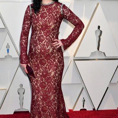 Krysten Ritter Reveals Pregnancy on Oscars Red Carpet 2019